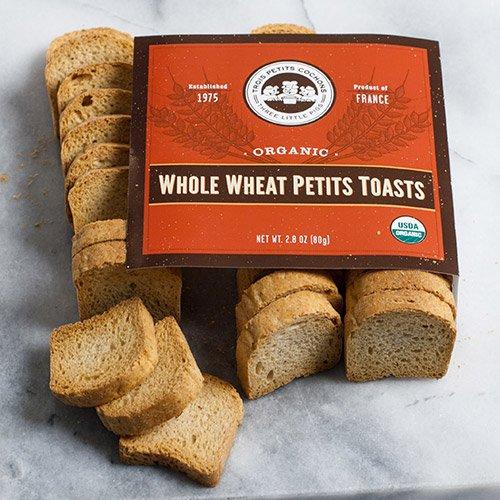 Three Little Pigs Organic Whole Wheat Toasts, 2.8 oz ()