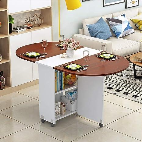 Amazon.com: FLYSXP Simple Modern Small Apartment Folding ...
