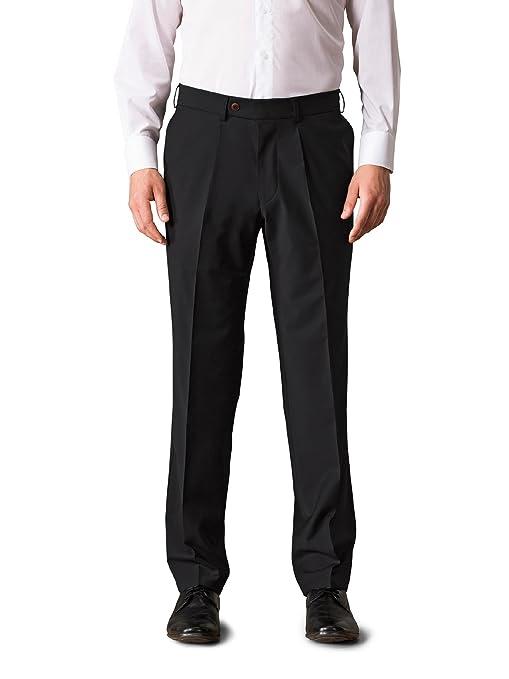 Walbusch Herren Traveller Tuchhose Bi-Stretch, Modern Fit, einfarbig, knitterunempfindlich