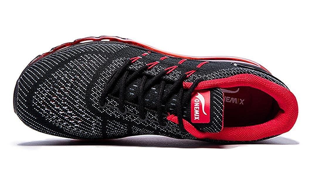ONEMIX Men\'s Air Running Shoes Light Gym Outdoor Walking Sneakers