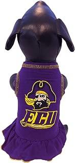 product image for NCAA East Carolina Pirates Cheerleader Dog Dress, XX-Small