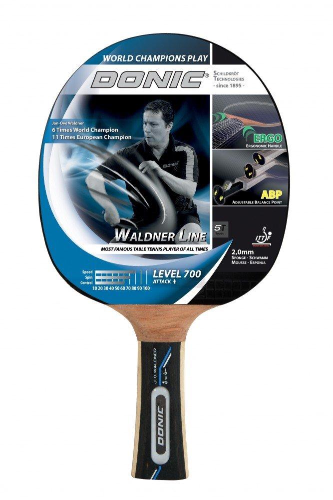 Donic-Schildkrot 754872 - WALDNER 700 Attack Tischtennis Schlager ABP-G