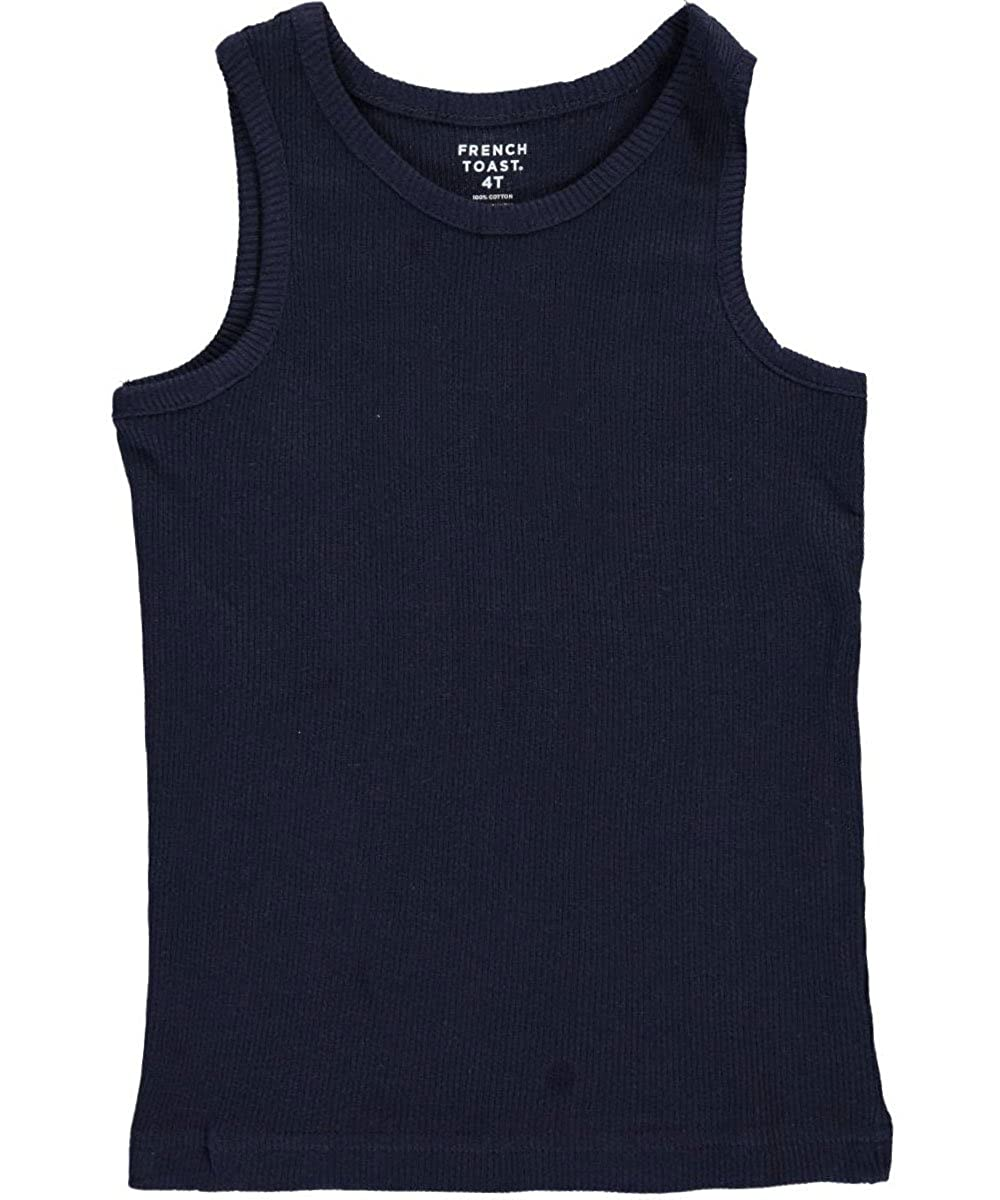 French Toast Little Boys' Toddler Ribbed Tank Top 3t