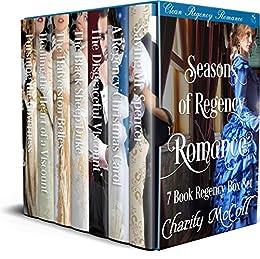 Seasons of Regency Romance: 7 Book Clean Regency Romance Box Set by [McColl, Charity, Read, Pure]