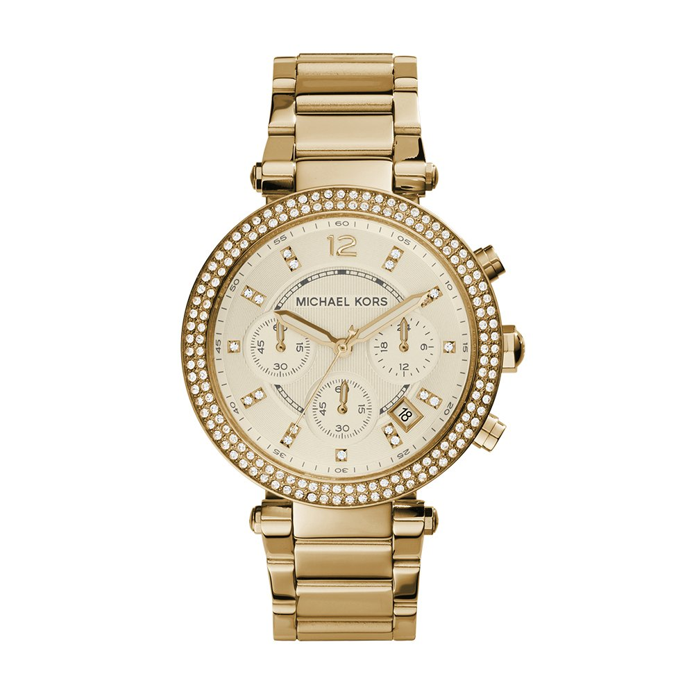 5d197b5da8 Amazon.com  Michael Kors Women s Parker Gold-Tone Watch MK5354  Michael Kors   Watches