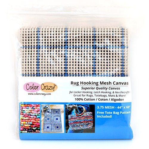 Rug Hooking Mesh Canvas - 3.75 Mesh (44