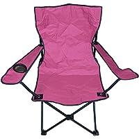 Andoutdoor Katlanır Kamp Sandalyesi Unisex, Pembe, Tek Beden