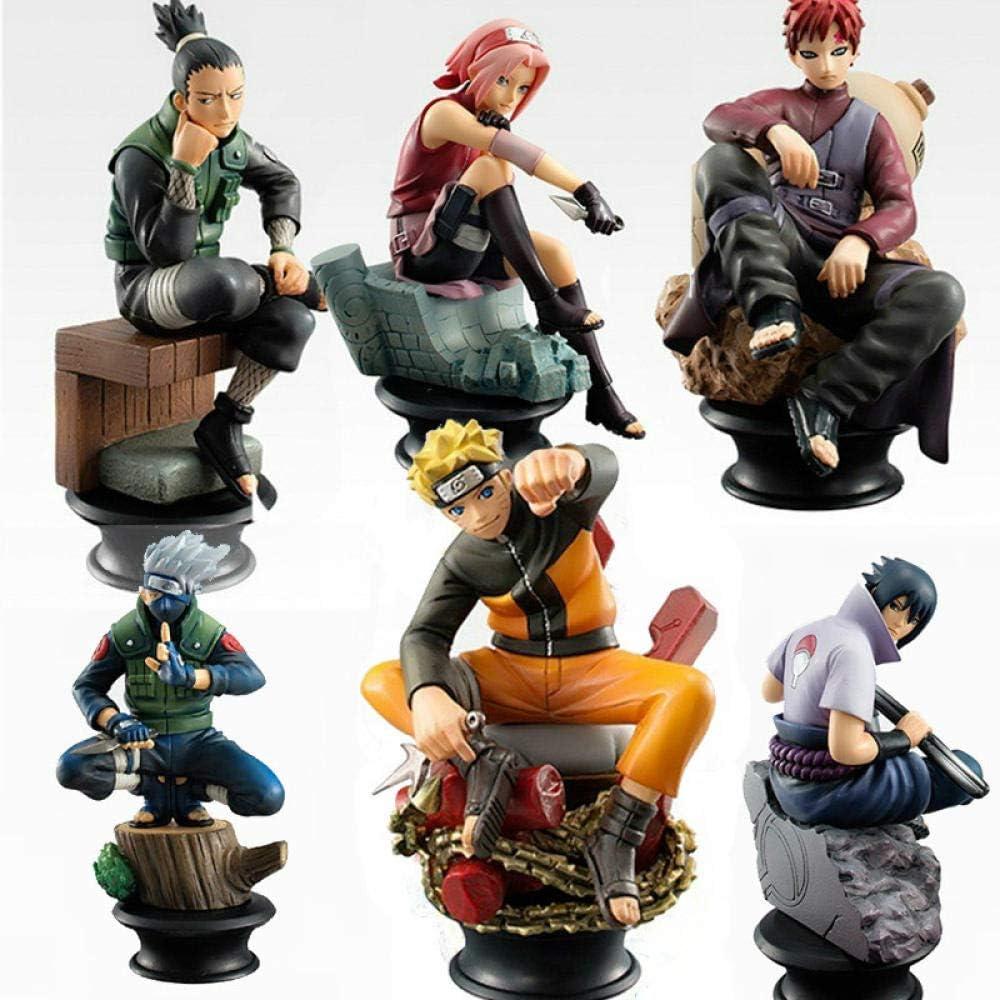 cheaaff Naruto Action Figures PVC 6-Piece Set Model Toy Anime Naruto Figure  Sasuke Gaara Action Figures for Decoration Collection Gift Toy: Amazon.de:  Küche & Haushalt