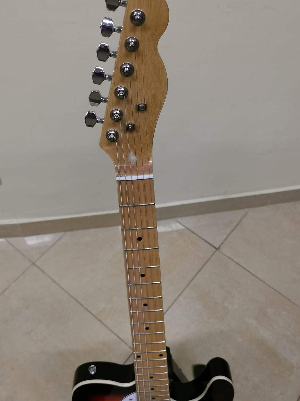 Guitarra Telecaster Thinline Sunburst: Amazon.es: Instrumentos ...