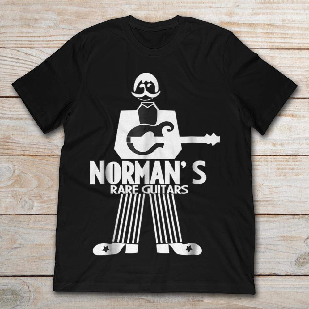 Norman's Rare Guitars. by Phoebe Love T-Shirts