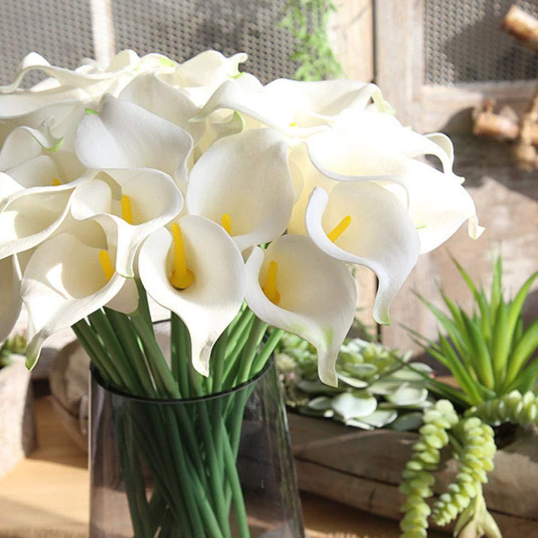 Tagether Kunstliche Blumen Weiss 5pc Calla Lily Unechte