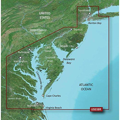 Garmin Bluechart G2 VUS038R New York To Chesapeake Vision MicroSD & ()