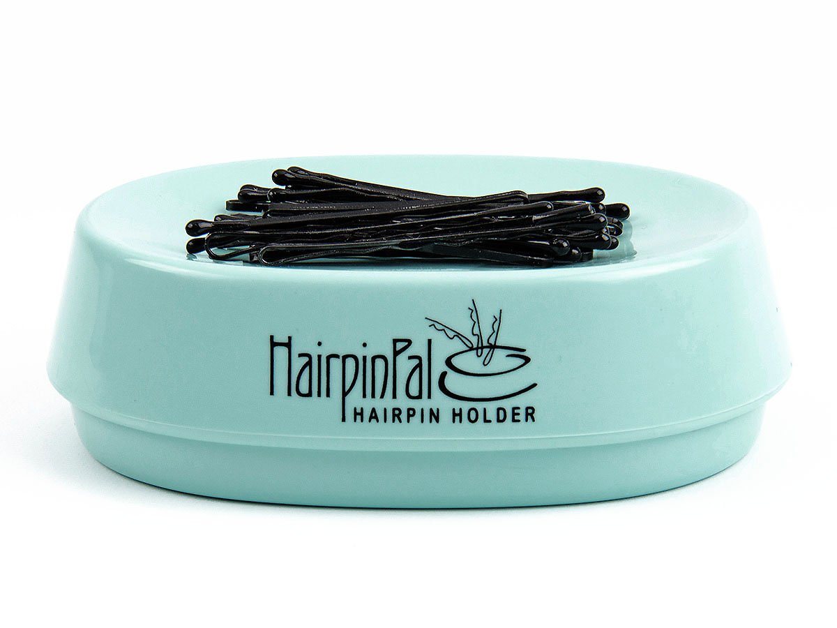 Bobby Pin and Hair Clip Magnetic Holder: HairpinPal (Sea Foam Teal) Blue Feather Products Inc. HPP