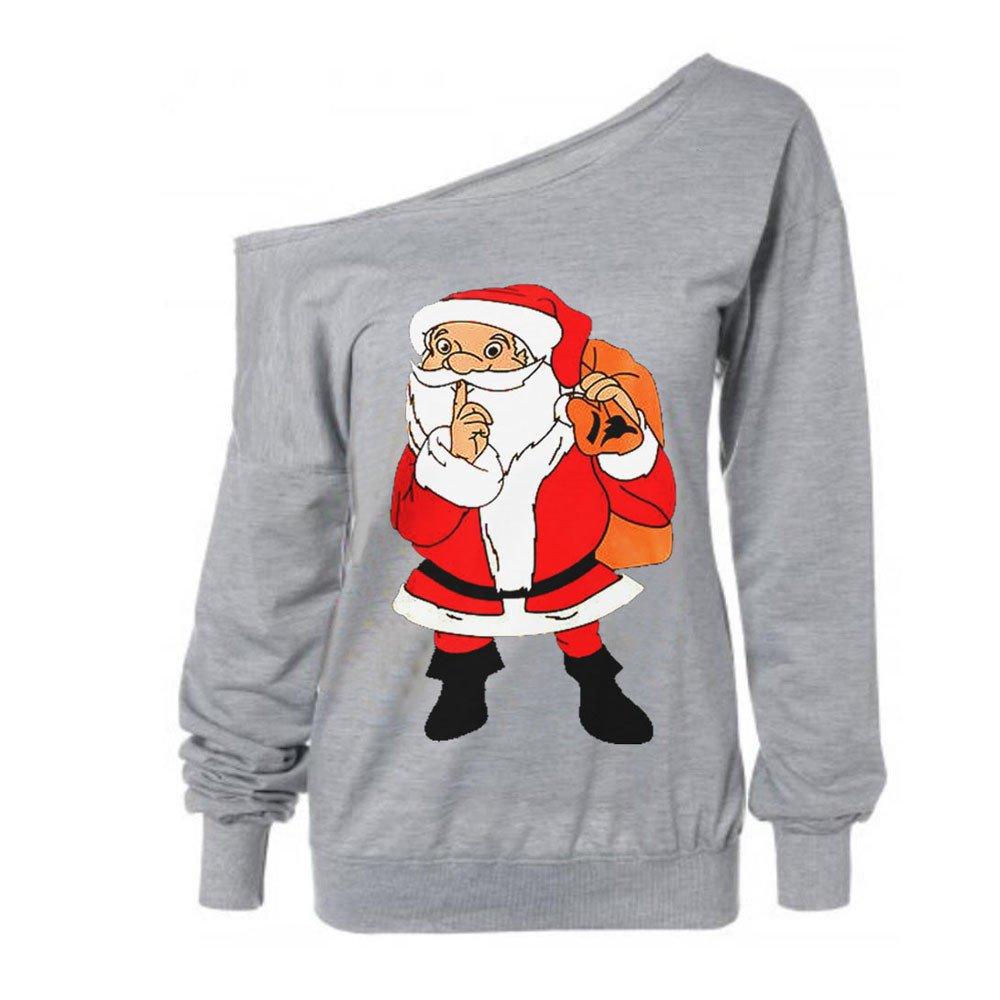 HWTOP ☺Sweatshirts Hoodies Damen Oberteil Hemd Pullover