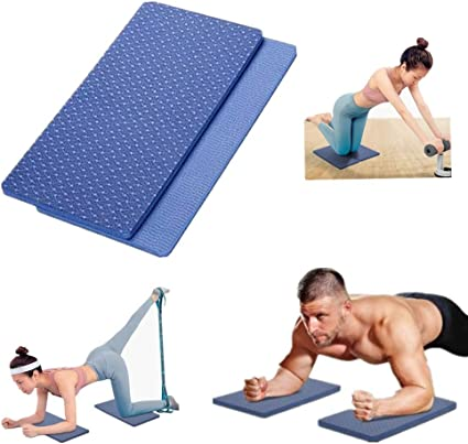 Extra Thick Yoga Cushion for Work Pilates Planks Gym Exercise Fitness Workout Kneeling Pad Yoga Knee Pads for Women Men