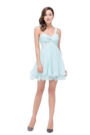 8c2d273ef06 Babyonlinedress Femme Elegant Robe de Demoiselle  d Honneur Soirée Cocktail Cérémonie Courte