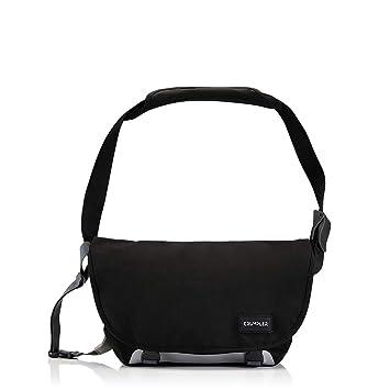 c633298c6628 Amazon.com   Crumpler Unisex Comfort Zone Large Messenger Bag Black ...