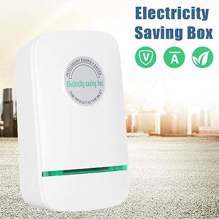 waterfail Cuadro de Ahorro de Electricidad Ahorro de energ/ía de energ/ía Inteligente eficiente 15-18KW AC90-250v Ahorro de energ/ía de Dispositivos dom/ésticos para Uso en Interiores