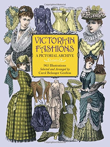 1855 Art - Victorian Fashions: A Pictorial Archive, 965 Illustrations (Dover Pictorial Archive)