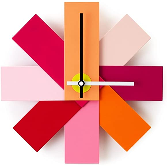 NORMANN COPENAGHEN WATCH ME WALL CLOCK PINK