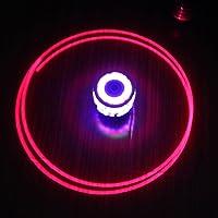 HOMYL 2pcs Colorful Gyro Spinning Top Toy Flash Light Sound Music Toy Music Gyroscope Gyro Kids Boys Gifts