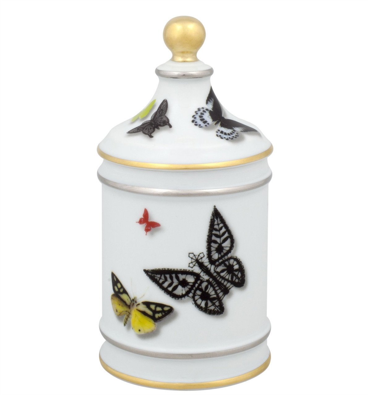 Vista Alegre Christian Lacroix Butterfly Parade Sugar Bowl by Christian Lacroix