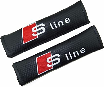 Almohadilla para cinturones de seguridad con logotipo Sline bordados