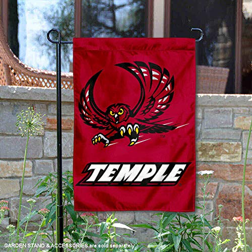 (Temple University Garden Flag and Yard Banner)
