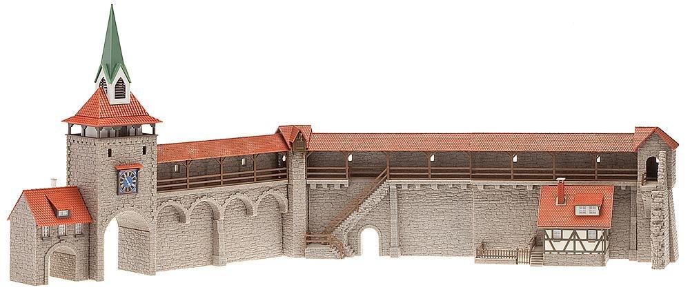FALLER 130401 - Altstadtmauer-Set Modelleisenbahn / Aufbauten Modelleisenbahn / Sonstige Gebäude