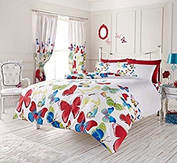 PRINTED DUVET COVER WITH PILLOW CASE QUILT COVER SINGLE DOUBLE KING BEDDING SET Huis Bedlinnen, sets