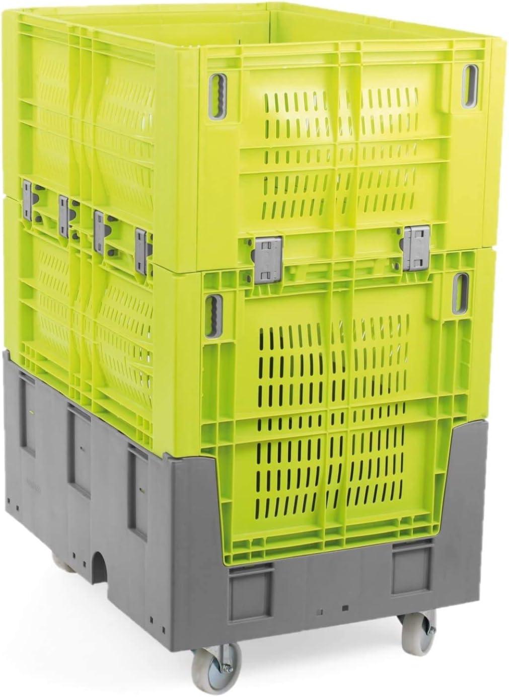 Caja para almacén con ruedas: Amazon.es: Hogar