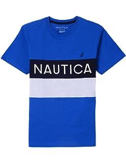 64f88fcfc189 Nautica Boys  Short Sleeve Heritage Tee Shirt