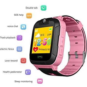 Amazon.com: Kids Smartwatch Phone with GPS 3G Childrens ...