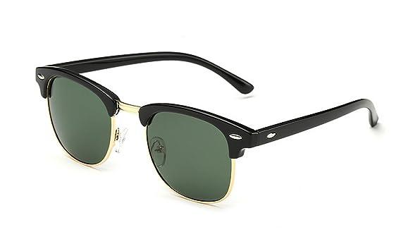 Amazon.com: Arctic Star® mitad Marco marca anteojos de sol ...