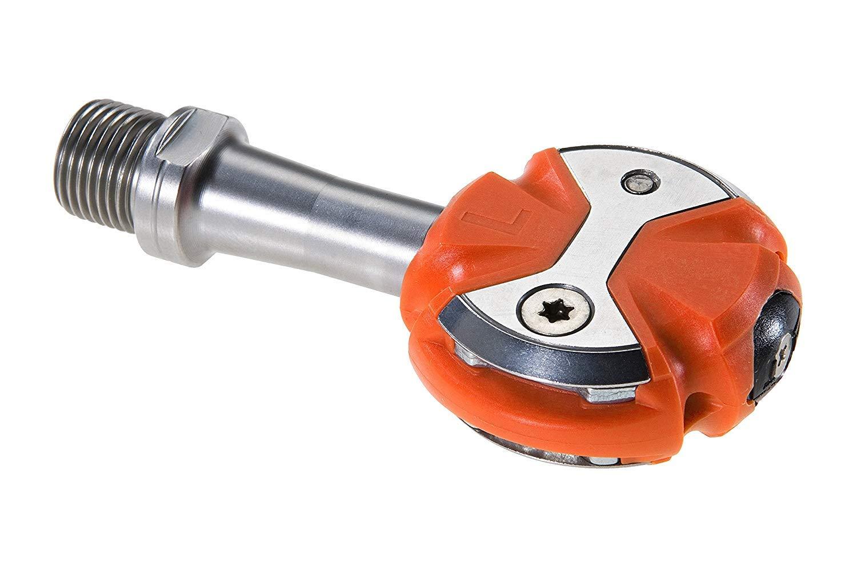 SPEEDPLAY(スピードプレイ) ZERO(ゼロ) ステンレスシャフトペダル 限定オレンジカラー ウォーカブルクリートセット 0950-01-61190