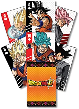 Great Eastern Entertainment Dragon Ball Super Goku SD Gruppe * 52 Playing Cards / Juego de Poker / Naipes Oficial - Original & Official Licensed: Amazon.es: Juguetes y juegos