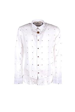 rivenditore all'ingrosso 3c413 f4ef2 ALESSANDRO LAMURA Camicia Uomo XL Bianco Pinacolata Primavera ...