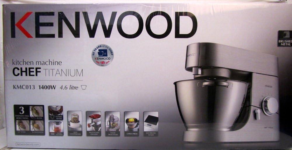 Kenwood Robot de Cocina kmc053 Chef Titanium – Mega Paquete KMC 05307: Amazon.es