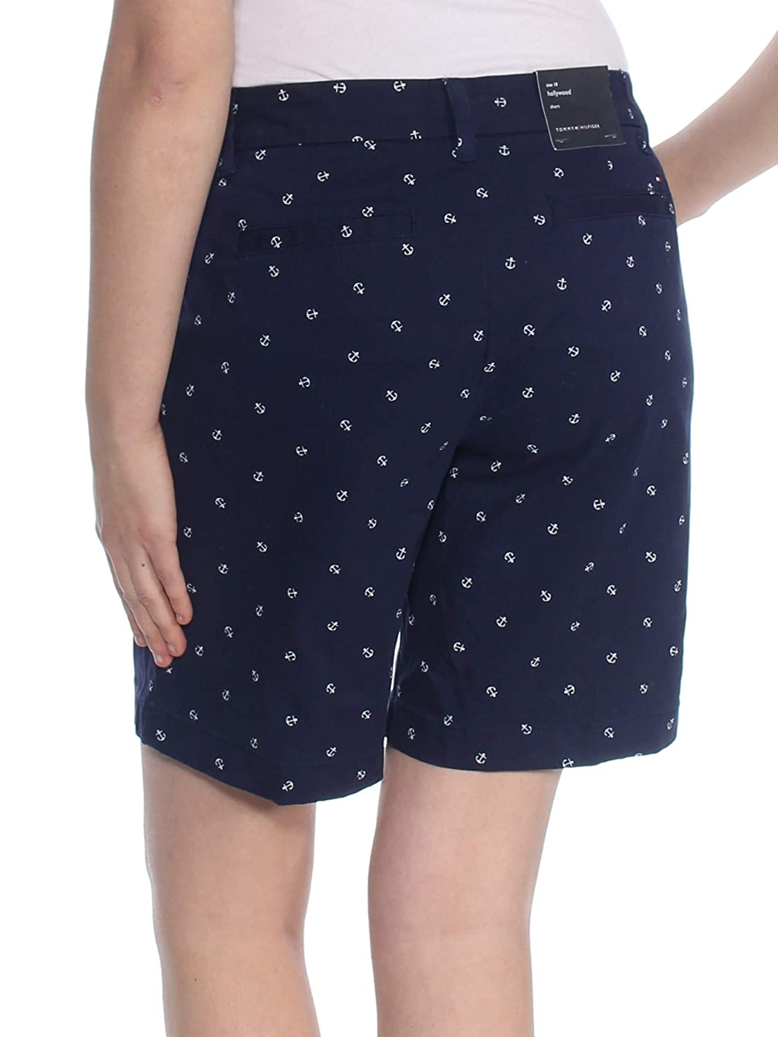 dfeffc0e53648 Tommy Hilfiger Womens Anchor Casual Chino Shorts at Amazon Women's ...
