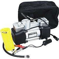 Yardwe Compressor de Ar Portátil Pneu Bomba de Ar Profissional 12V Da Bomba Inflador de Pneus Digital Medidor de Pressão…
