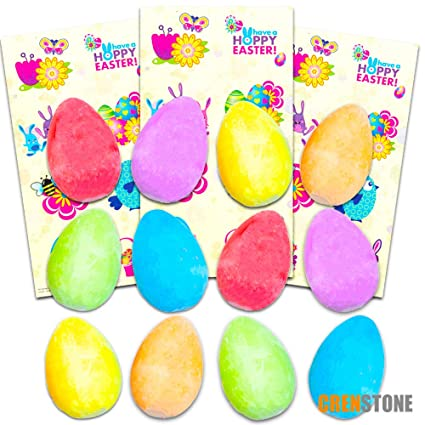 Amazoncom Crenstone Easter Egg Chalk And Easter Stickers Set For