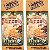 (2-pack) Bearpaw Ancient Grain Pancake Mix, Heritage Blend (24 ounce), Einkorn, Teff, Chia, Oats, 16% protein, BearpawGrains 861262000340