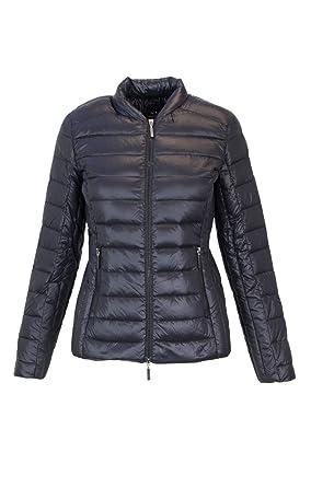Armani Exchange - Manteau - Femme Noir Noir - Noir - 42  Amazon.fr ... 10bd49556cc