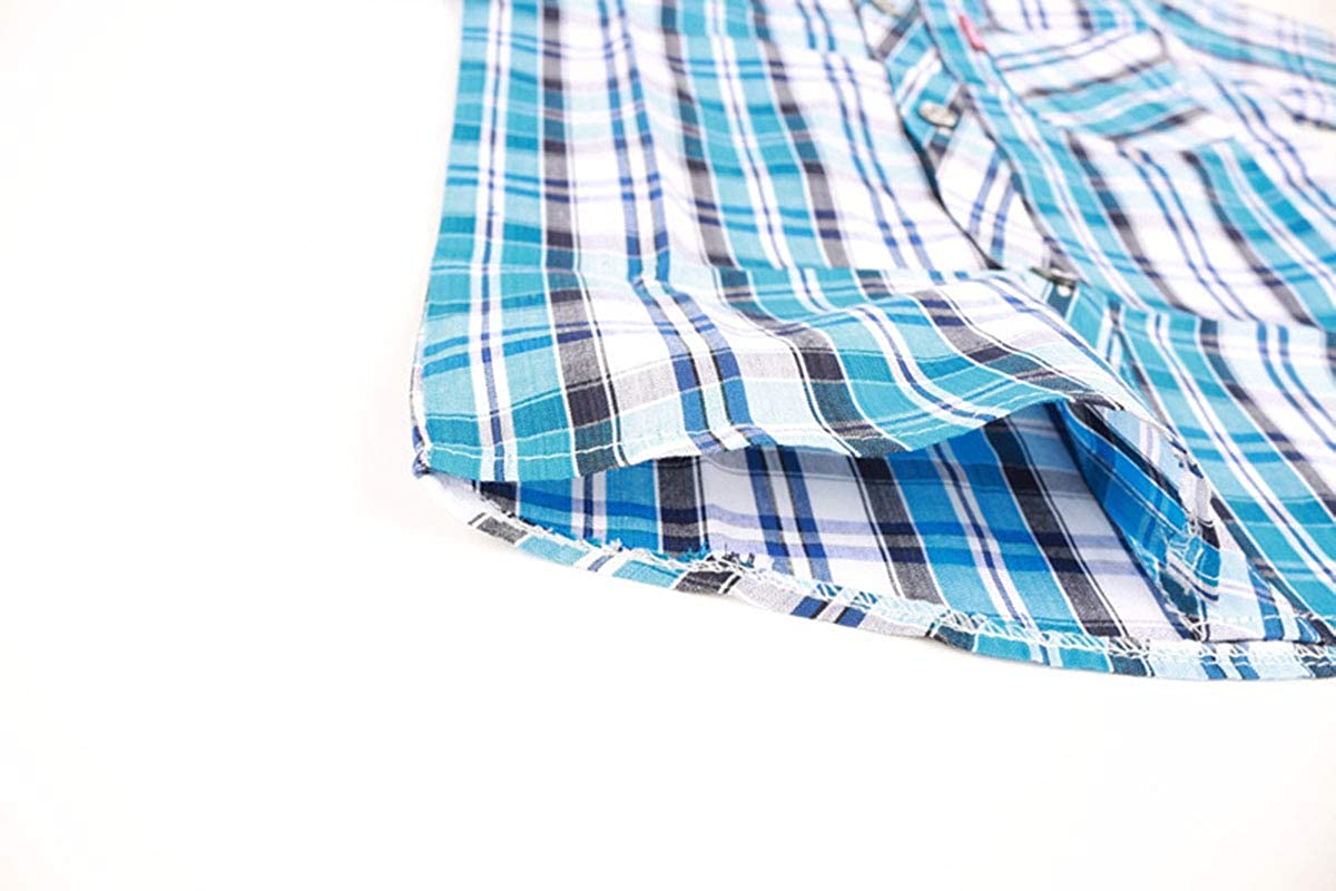Fairy Baby Children Little Boys Checked Shirt Kids Plaid Classic Clothes