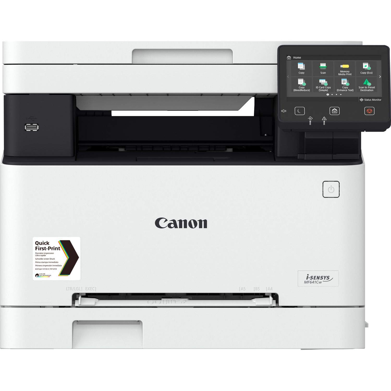 Impresora láser multifunción color Canon i-Sensys MF641Cw blanca ...