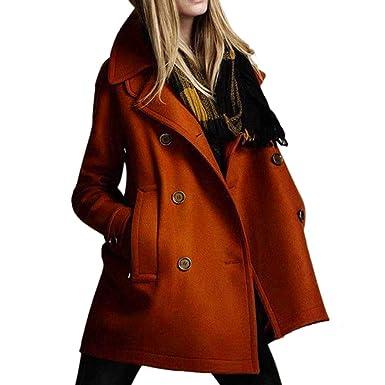 Manteau Femme Hiver 2019 Mode Femme Long Manche Solide