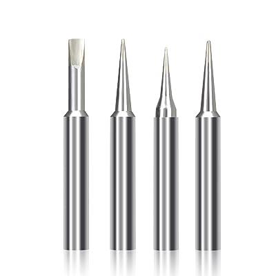 4pcs Soldering Tips for Weller ST Tips ST7 Soldering iron tip For WELLER WLC100 WP25 WP30 WP35/SP40L, SP40N