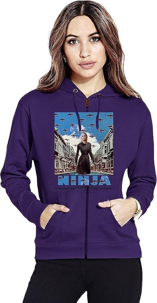Die Antwoord Enter The Ninja Womens Zipper Hoodie X-Large ...