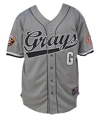 Amazon.com  Big Boy Headgear NLBM Mens Homestead Grays Baseball ... 08a6e92953