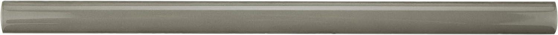SomerTile WNU36CGB Penn Demi-Bullnose Ceramic Wall Trim Tile 1//2 x 12 Grey